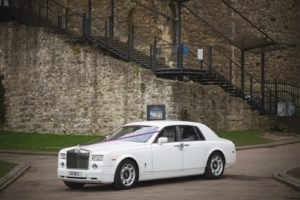 Rolls Royce Phantom Wedding Car Kent